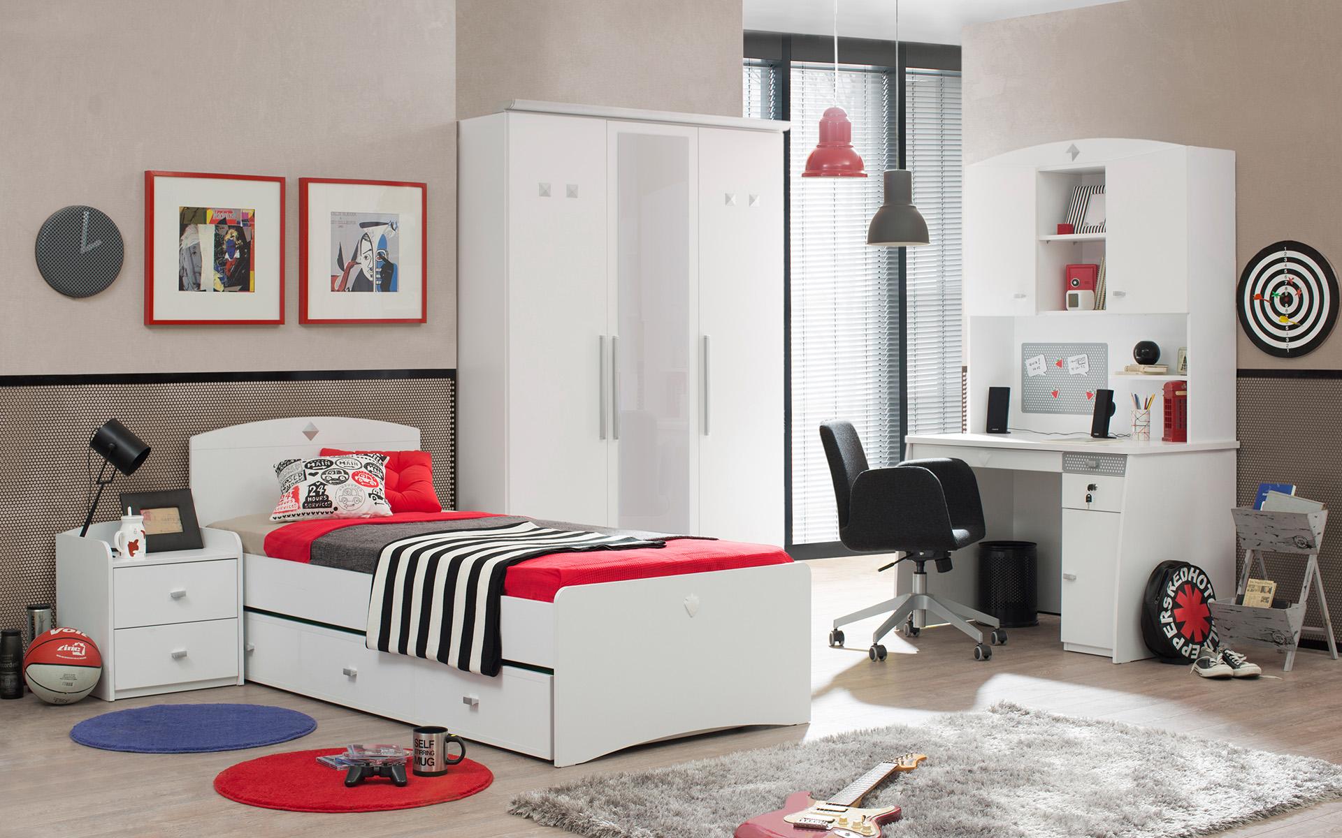 Active 3 deurs kledingkast kinderkast kinderkamer Specialist in ...
