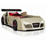 Autobed / Racebed V8 Turbo | wit kinderbed