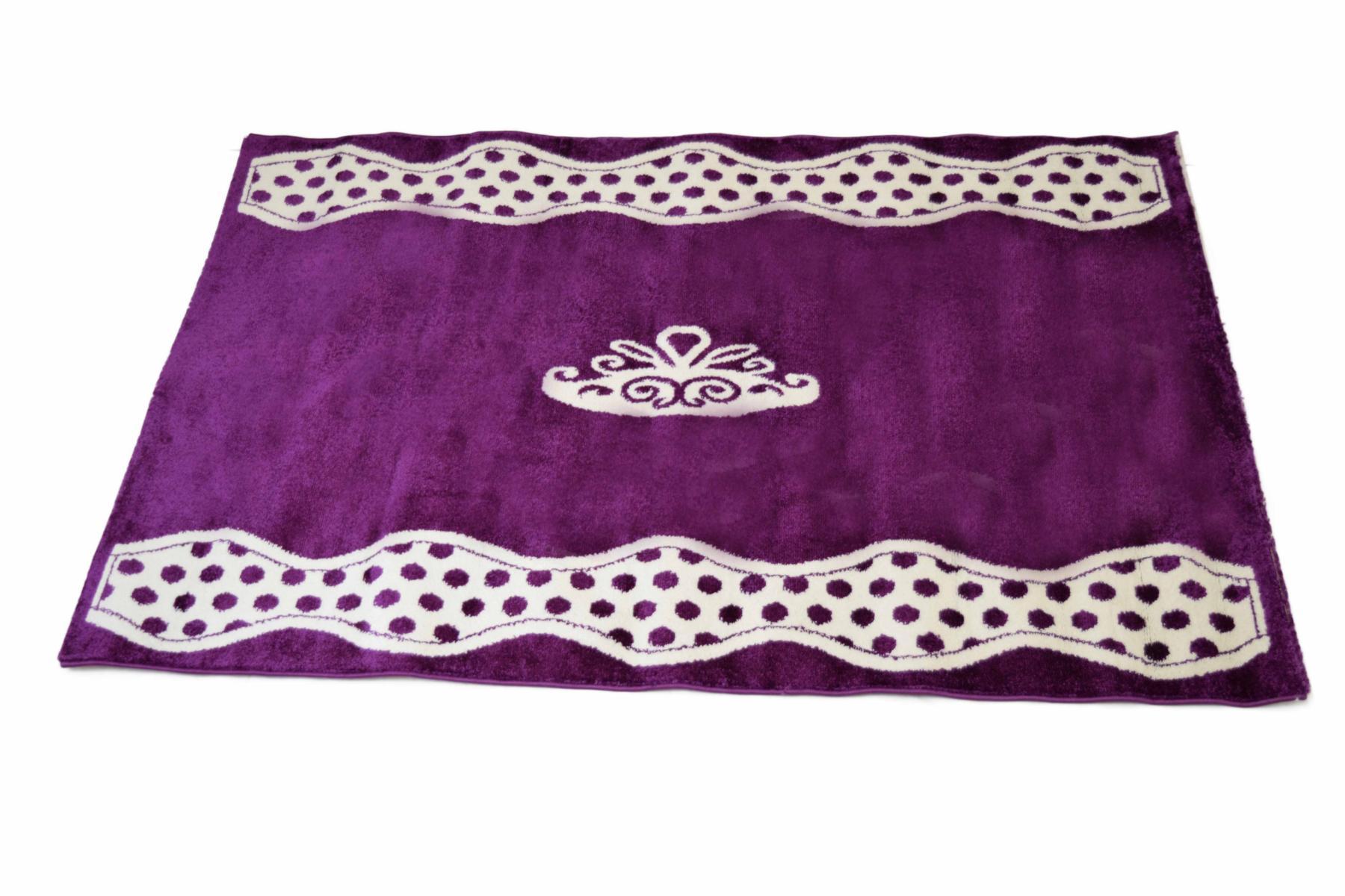 Prinsessen tapijt prinses meisjeskamer paars specialist in ...